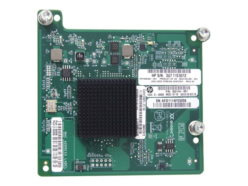 HPE QMH2572 8Gb Fibre Channel Host Bus Adapter, 651281-B21, 13825554, Host Bus Adapters (HBAs)