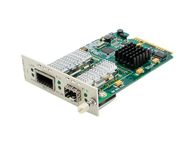 ACP-EP 10Gbps XFP to SFP+ Media Converter, ADD-MCC10GXSFP