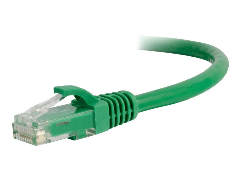 C2G Cat5e Snagless Unshielded (UTP) Network Patch Cable - Green, 35ft