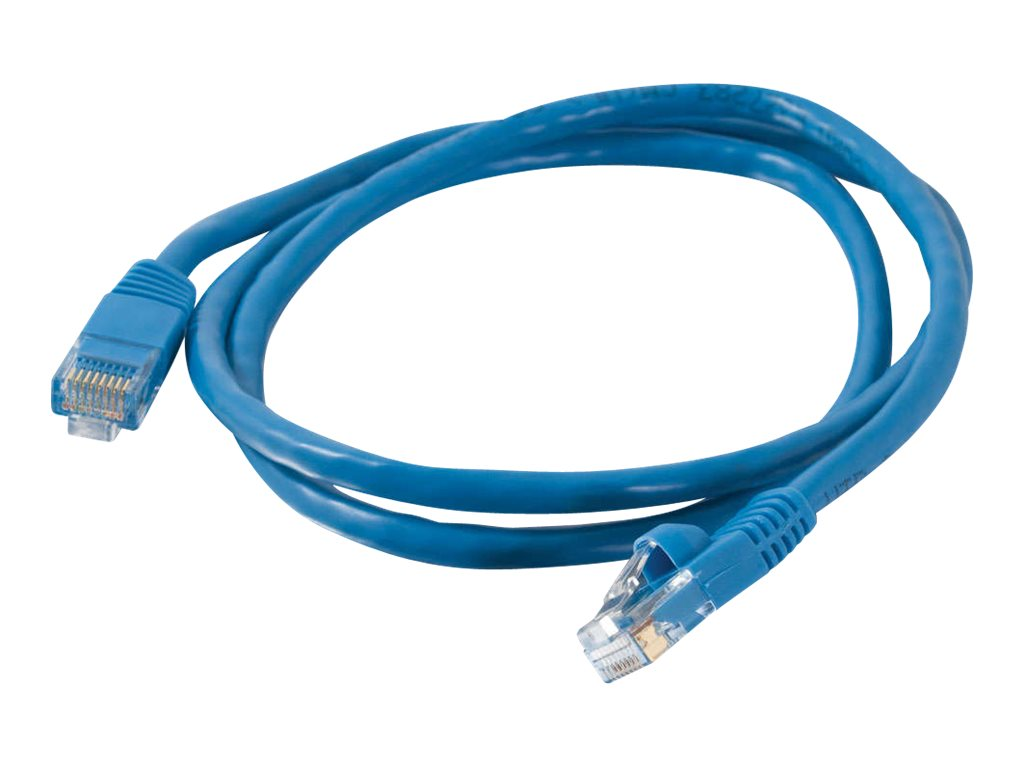 C2G Cat5e Snagless Unshielded (UTP) Network Patch Cable - Blue, 30ft