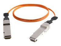C2G QSFP+ QSFP+ 40G InfiniBand Active Optical Cable, 20m, 6202, 15006721, Cables