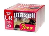 Maxell Normal Bias Audio Tape, 90 Minutes, 108575, 10984875, Audio Tape Media