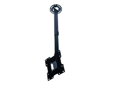 Peerless Adjustable Ceiling Mount for 15-37 Flat Panel Displays, Black