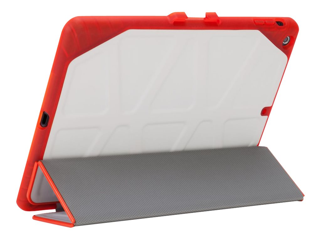 Targus 3D Protection for iPad Air 2, Light Gray Red Edge, THZ52201US