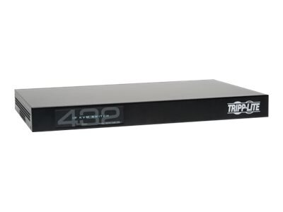 Tripp Lite 32-Port, 4+1 User NetCommander Cat5 IP KVM Switch w  (16) USB Dongles, B072-032-IP4-K, 17455212, KVM Switches