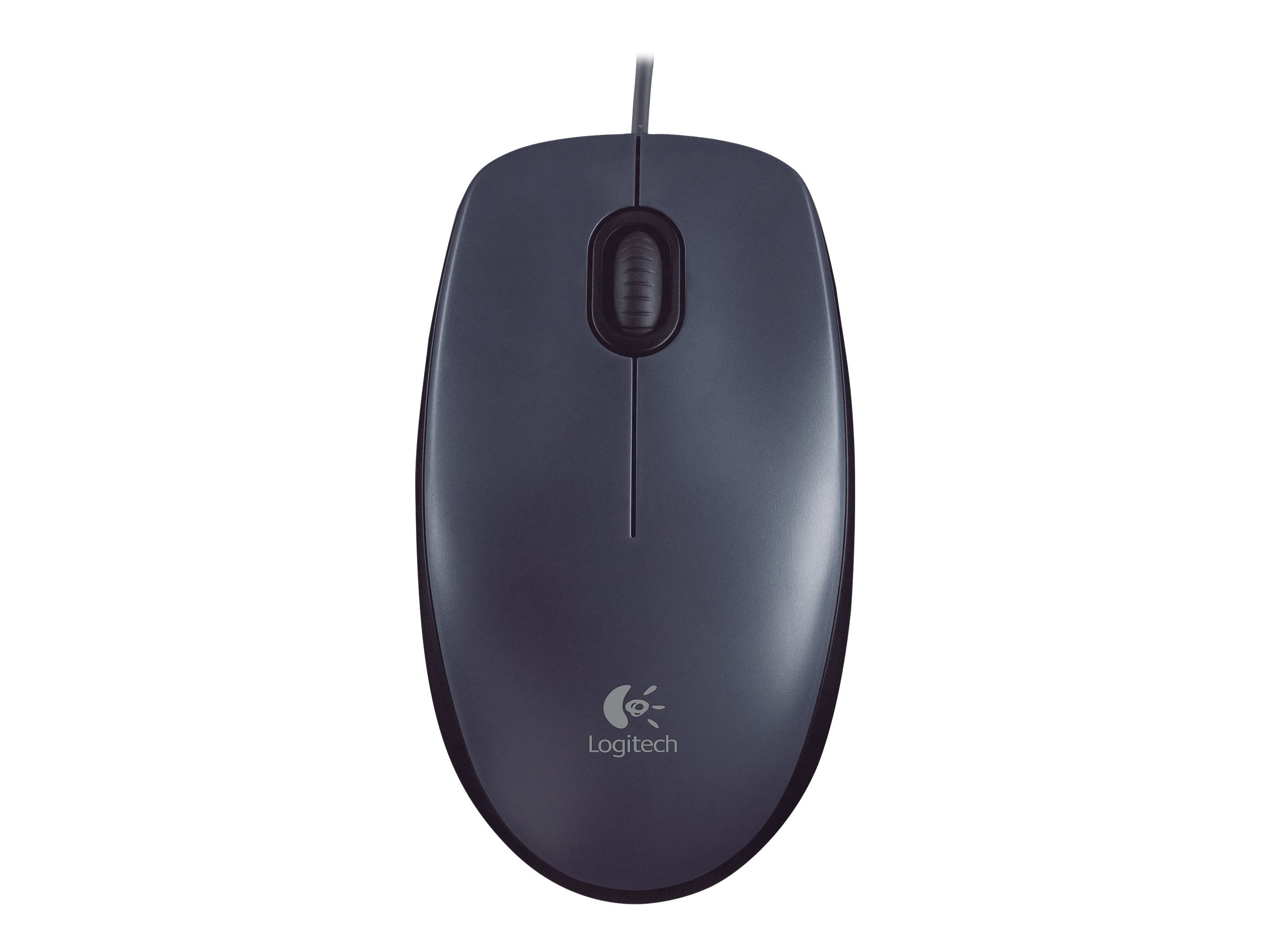 Logitech M100 USB Optical Mouse, Black