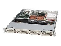 Supermicro Rackmountable Chassis, eATX, 520W PSU, CSE-813TQ-520, 12341144, Cases - Systems/Servers