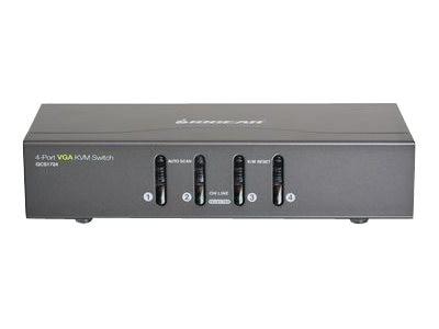IOGEAR 4-Port VGA KVM Switch, PS 2 and USB, Instant Rebate - Save $8, GCS1724