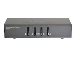 IOGEAR 4-Port VGA KVM Switch, PS 2 and USB, GCS1724, 16579281, KVM Switches