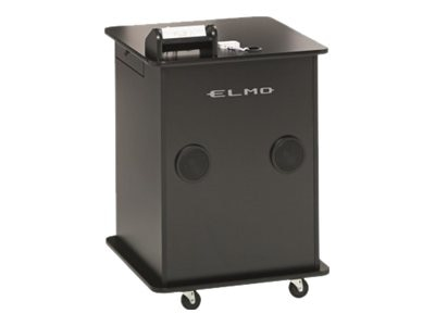 Elmo Manufacturing ECART-SW Cart with Switcher, ECART-SW, 13156101, Computer Carts