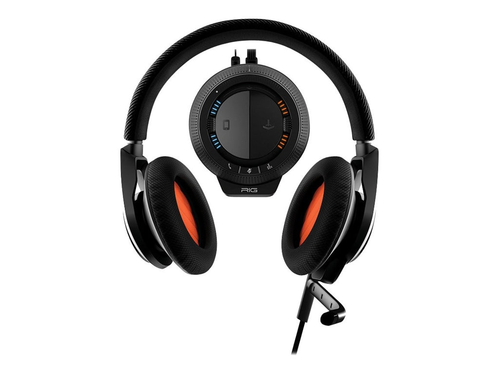 Plantronics RIG System Headset - Black for PS4