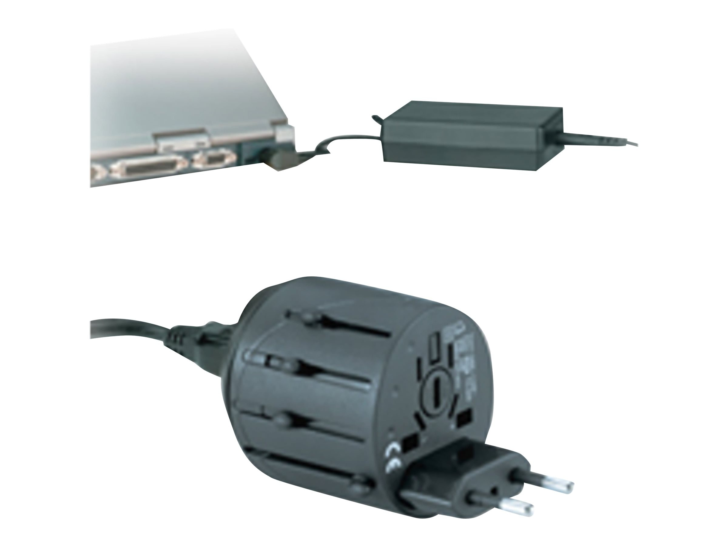 Kensington Travel Plug Adapter, K33117, 6068436, Power Converters
