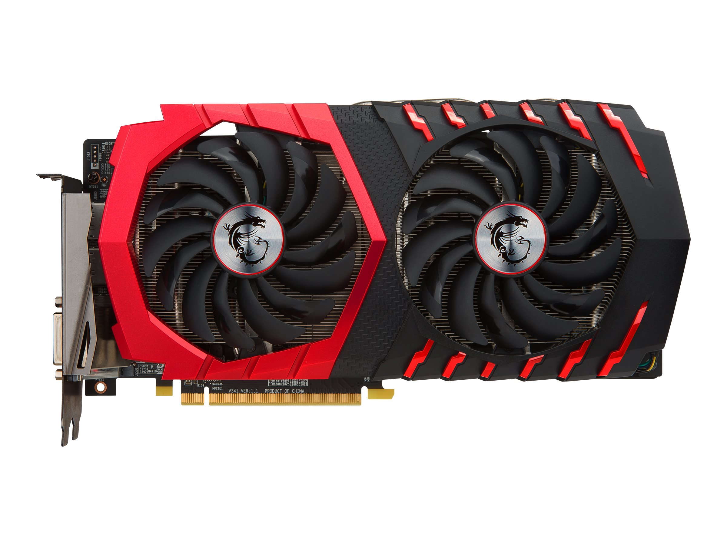 Microstar Radeon RX 470 PCIe 3.0 Graphics Card, 4GB GDDR5