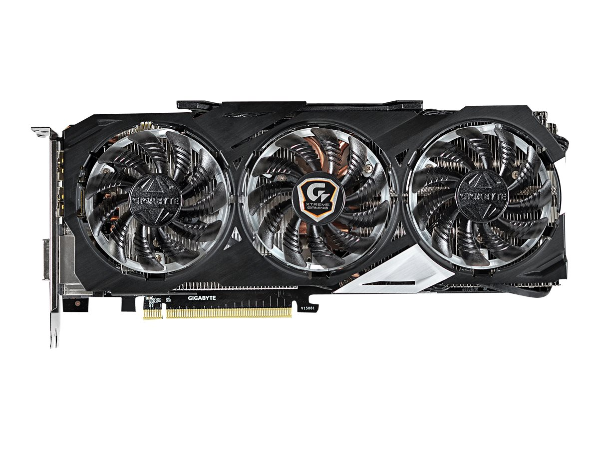 Gigabyte Tech GeForce GTX 970 PCIe 3.0 Overclocked Graphics Card, 4GB GDDR5, GV-N970XTREME-4GD