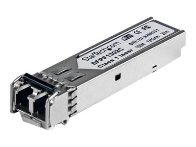 StarTech.com 155Mbps 1310nm Multi Mode LC Fiber SFP Transceiver with DDM 2km, SFPF1302C
