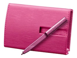 Sony Leather Cover with Stylus, Pink, LCJTHE/P, 10174127, Carrying Cases - Camera/Camcorder