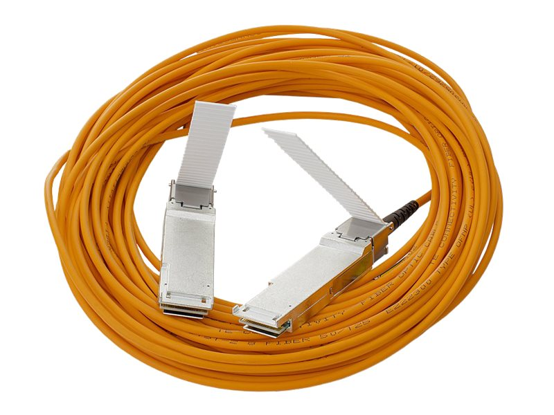 HPE 40G QSFP+ to QSFP+ Active Optical Cable, 7m, 720205-B21