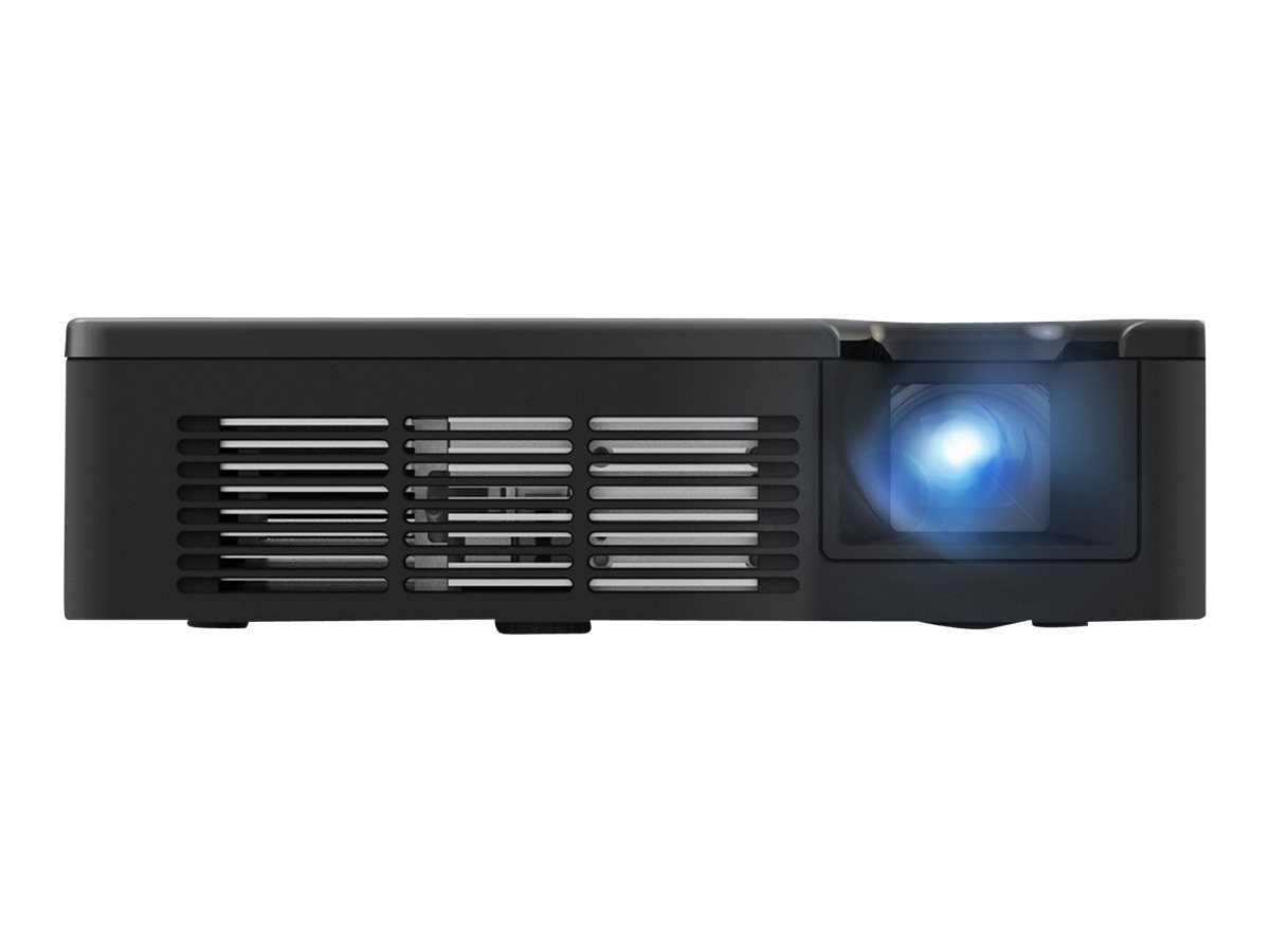 Scratch & Dent ViewSonic W600 WXGA Ultra-Portable LED Projector, 600 Lumens, Black
