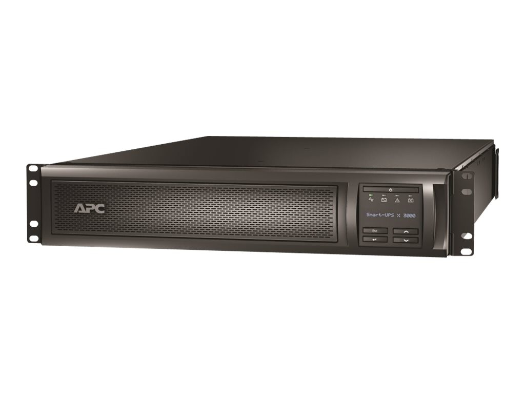 APC Smart-UPS X 3000VA 100-127V 2U Rack Tower LCD, Extended Runtime Model, SMX3000RMLV2UNC