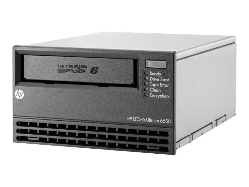 HPE StoreEver LTO-6 Ultrium 6650 Internal Tape Drive, EH963A, 15131530, Tape Drives