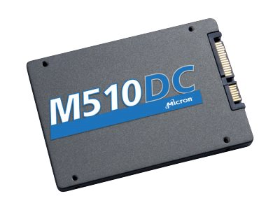 Crucial 960GB M510DC TCG 2.5 7mm Enterprise Solid State Drive, MTFDDAK960MBP-1AN1ZABYY, 26410008, Solid State Drives - Internal