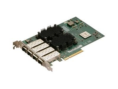 Atto FastFrame 8Ch. 10GBE PCIe CNA LC SFP+ SR 4-port Full Height, FFRM-CS14-000, 13331546, Network Adapters & NICs
