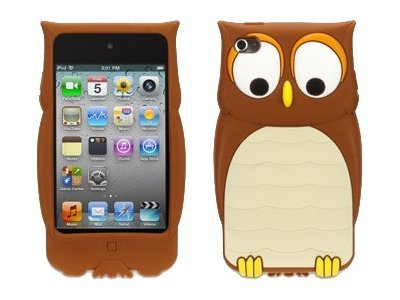 Griffin Kazoo Owl for Touch 4 Brown, GB03320, 15479229, Carrying Cases - Other