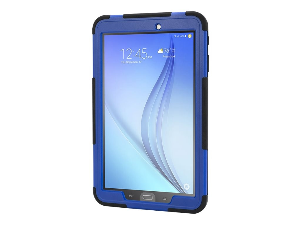 Griffin Survivor Slim for Galaxy Tab E, Black Blue