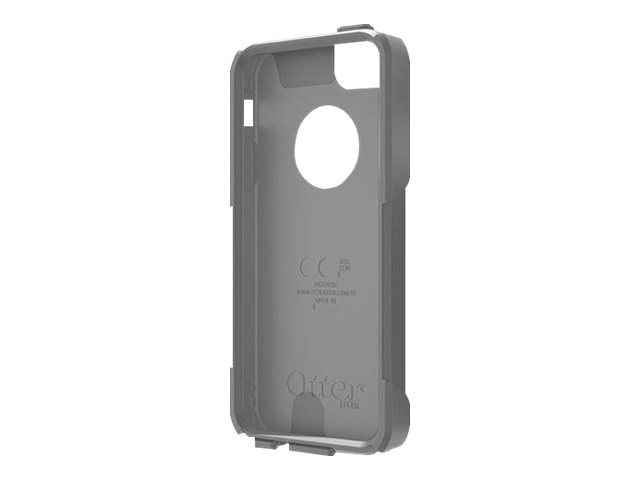 OtterBox Slip Cover w  Screen Accessory Commuter for iPhone 5 5S, Gunmetal Gray, 78-29734, 22065737, Carrying Cases - Phones/PDAs