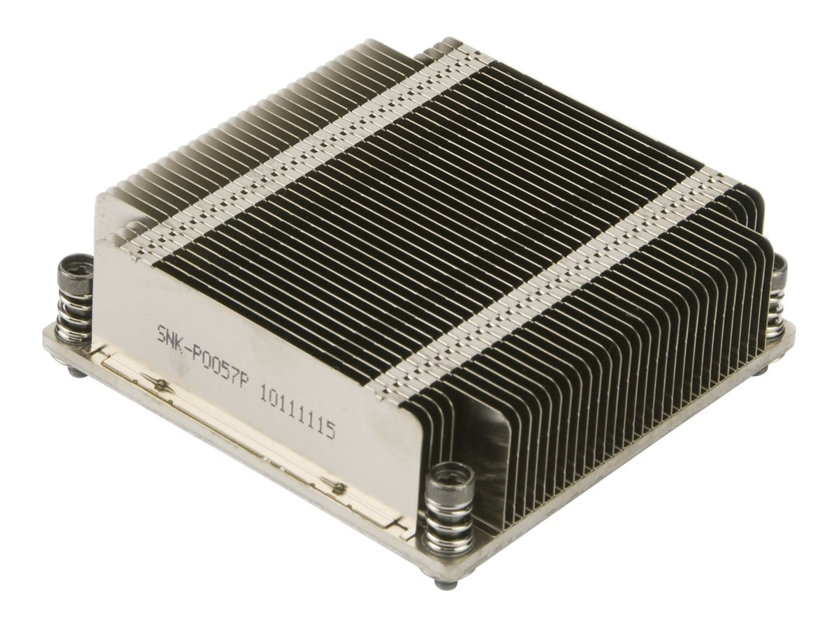 Supermicro SNK-P0057P 1U Passive High Performance CPU Heat Sink Socket LGA2011 Square ILM, SNK-P0057P