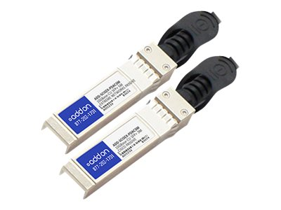 ACP-EP 10GBase-CU SFP+ to SFP+ Direct Attach Passive Twinax Cable, 3m, ADD-SCISEX-PDAC3M, 18191870, Cables