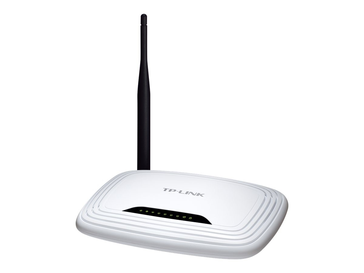 TP-LINK Wireless N150 Home Router, 150Mpbs, IP QoS, WPS Button, 5 dBi Detachable Antenna, TL-WR741ND, 13819488, Wireless Routers