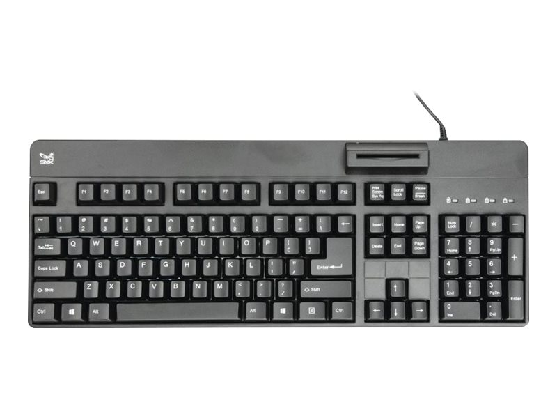 SMK Link Wired Keyboard w  Smart Card Reader, TAA