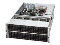 Supermicro 4U 72X 2.5 Hard Drive Storage Server Chassis - 1400W, CSE-417E26-R1400LPB, 11943135, Drive Mounting Hardware