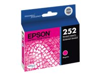 Epson Magenta 252 Standard-Capacity Ink Cartridge, T252320, 17381760, Ink Cartridges & Ink Refill Kits