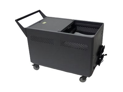 Datamation Security Carts to Accomodate 3 Chromebooks, DS-GR-CBW-L32-C, 17701735, Computer Carts