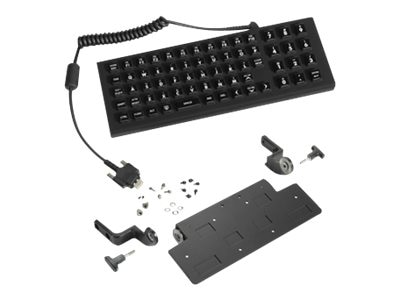 Zebra Symbol Keyboard 65-key Backlit IP66 Sealed, KT-KYBDQW-VC70-02R