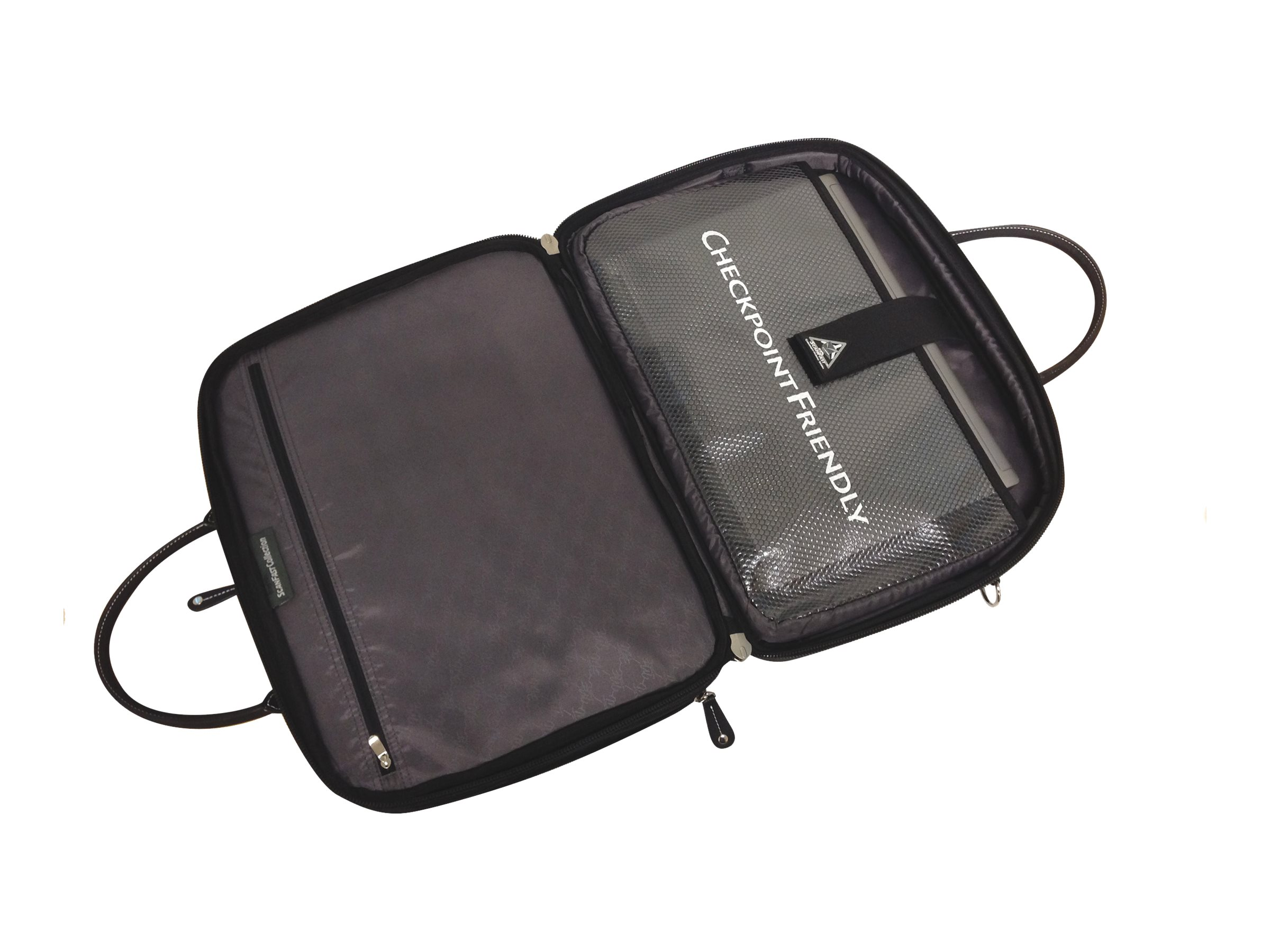 Mobile Edge Scanfast Briefcase, 14.1 15, MESFEBHS