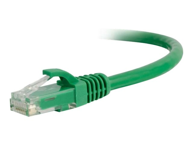 C2G Cat6 Snagless Unshielded (UTP) Network Patch Cable - Green, 2ft