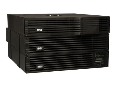 Tripp Lite 5000VA UPS Smart Online 6U Rack Tower 120-240V with Step-down Transformer, SU5000RT4UTF, 11422495, Battery Backup/UPS
