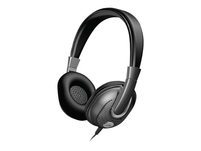 Cyber Acoustics Stereo Headphone - Adult, ACM-7003, 18039114, Headsets (w/ microphone)