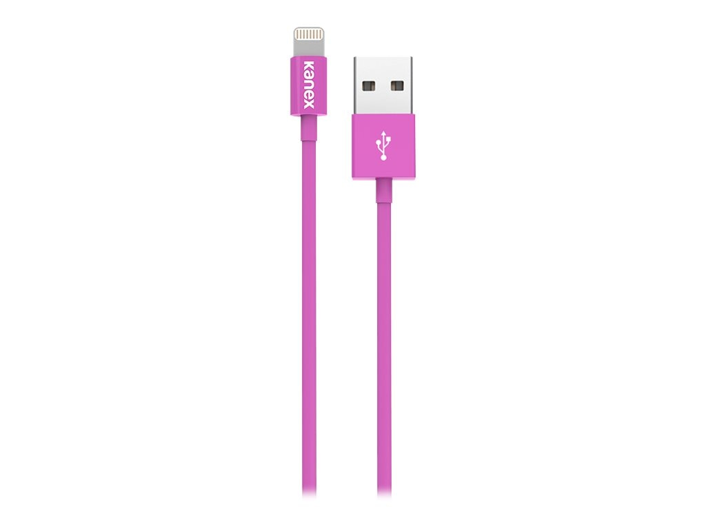Kanex Lightning to USB Cable, Purple, 4ft, K8PIN4FPR, 17755952, Cables