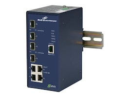 IMC 8-Port GbE Managed Industrial Ethernet Switch w 4xCopper, 4xSFP, EIR608-4SFP, 30917186, Network Transceivers