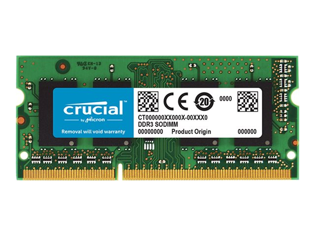 Crucial 4GB PC3-14900 204-pin DDR3 SDRAM SODIMM
