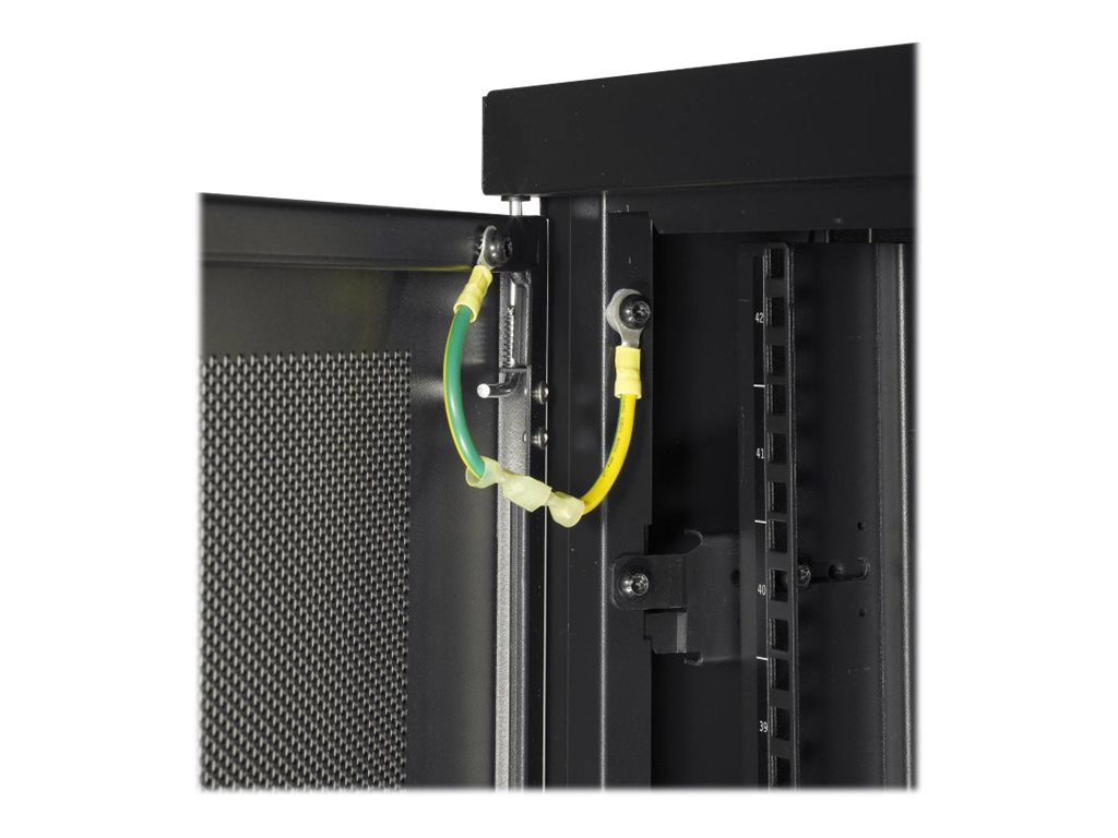 APC NetShelter SV 42U x 600mm Wide x 1060mm Deep Enclosure with Sides, Black, Instant Rebate - Save $120, AR2400