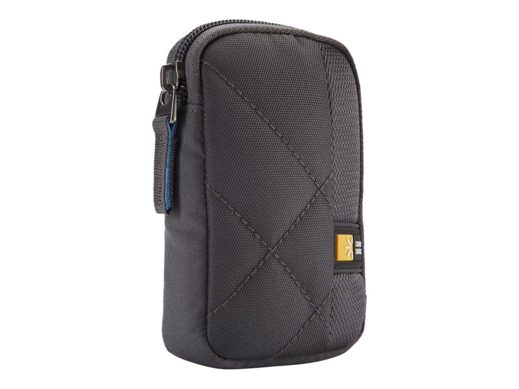 Case Logic Point & Shoot Camera Case, Gray, CPL-101GRAY, 20076441, Carrying Cases - Camera/Camcorder
