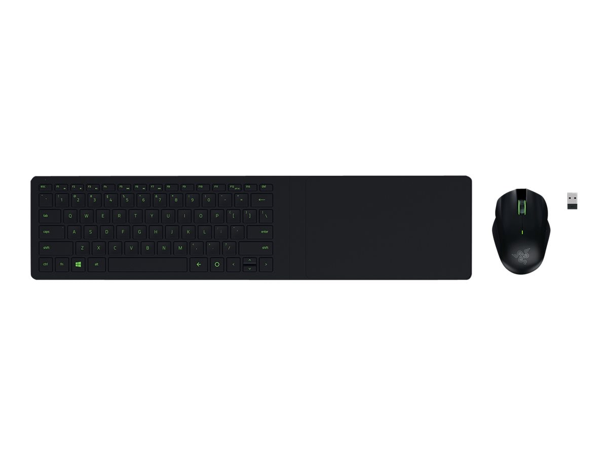 Razer Black Turret Gaming Mouse Keyboard