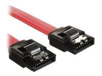 4Xem Latching SATA 3.0 Cable, Red, 8, 4XSATAL8RD, 16921664, Cables
