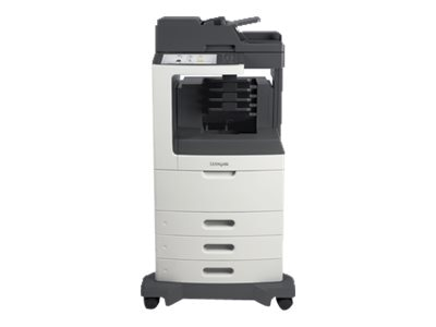 Lexmark MX810dtme Monochrome Laser Multifunction Printer
