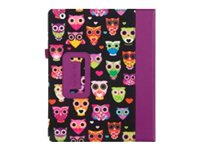 Griffin Passport Wise Eyes for iPad, Black Pink Mlt